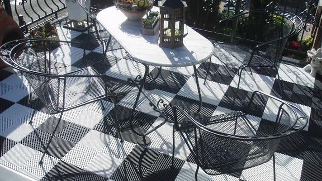 Genoeg Balkon inrichten? Bekijk ons balkonvloer aanbod! SO36
