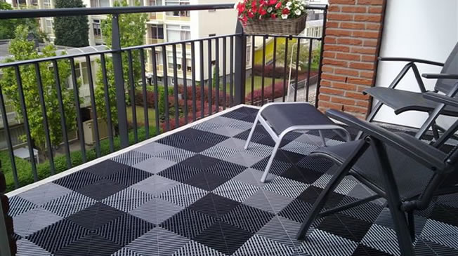 Terrastegels balkon
